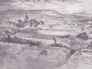 1896 táján az Újépület, 4. (1950-től 5.) kerület