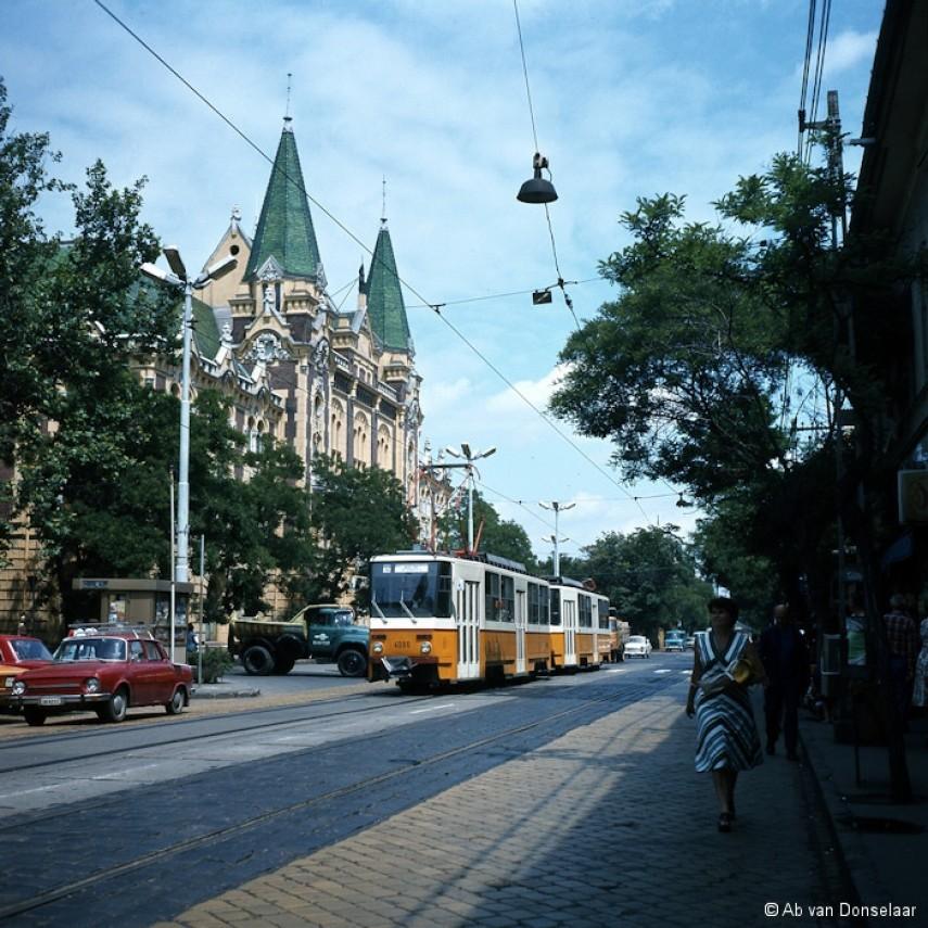 1980-as évek Bajcsy-Zsilinszky (István) út, 4. kerület