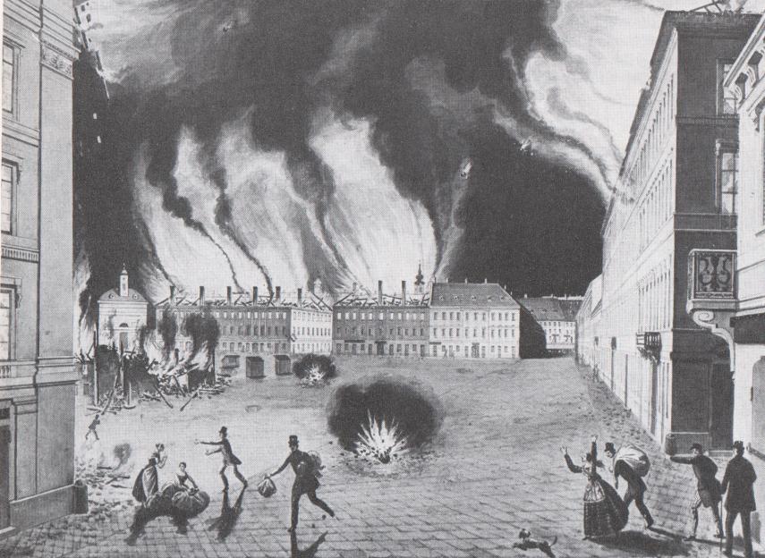 1849, Újvásár (Erzsébet) tér, 5. kerület