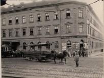 1890 táján, Üllői út, 9. kerület